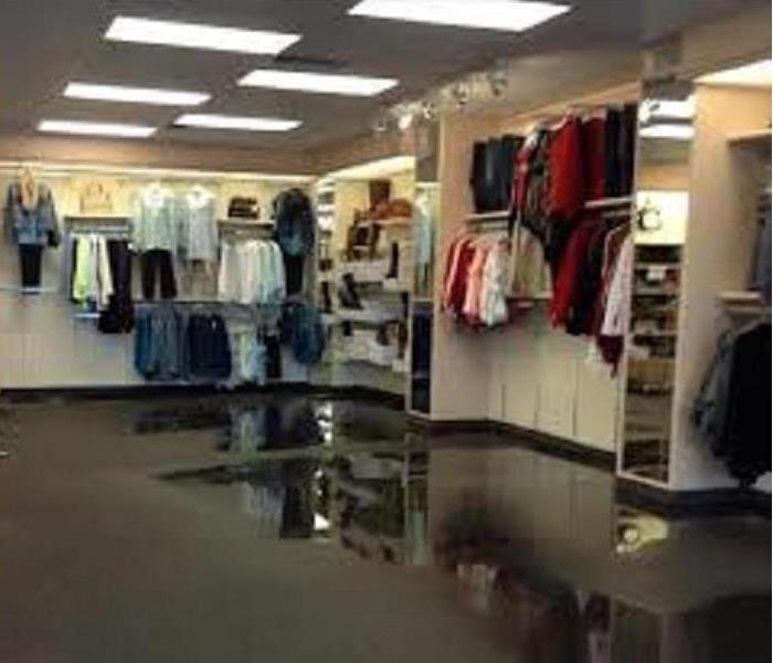 Storm Damage – Bristol Retail Store Before