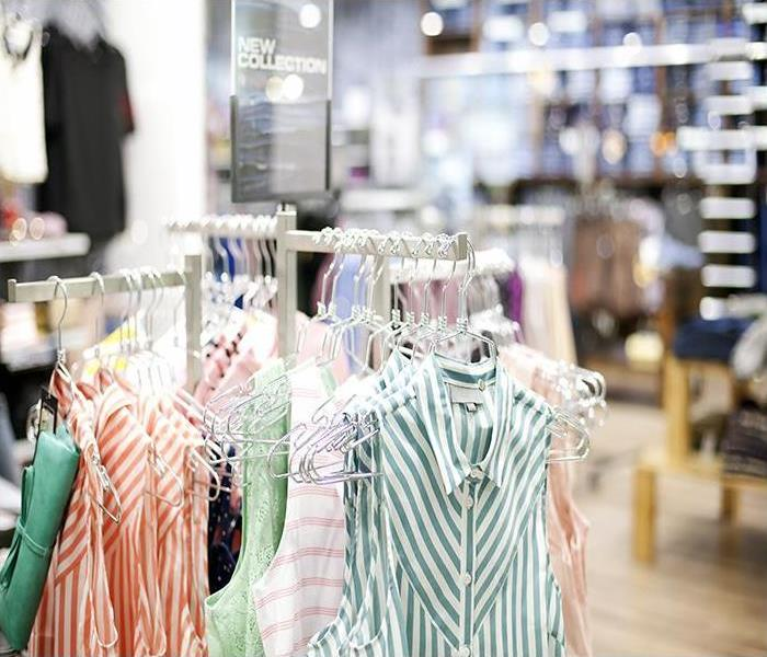 Commercial Commercial Water Damage Hurts Products, Image, And Customer Relations In Bristol Clothing Stores