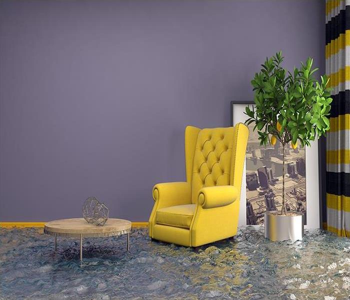 Water Damage Your Flooded Bristol Basement Can Be Dry Again When You Call SERVPRO For Help